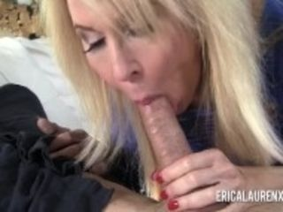 """Pornstar cougar Erica Lauren has a thing for junior men"""