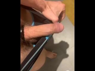 CHECK OUT! This scorching clip of @Cyber_X3X demonstrating off his salami! 4my.fans/cyber-x