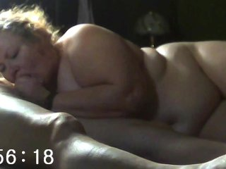 Ugy ginormous wifey deep-throats, gets here puss munched and her ginormous 254 screw assets screwed