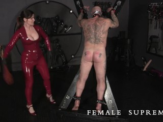 Female domination cropping by the Baroness Essex