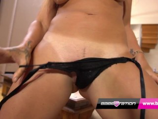 'Hot point of view Lapdance With Amanda Rendall At Babestation'