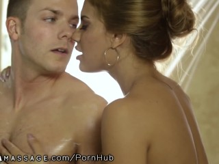 NuruMassage Shower with the addition of Quickie just about Mercedes Carrera B4 my effluence...