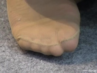 Candid fatigued nylon soles