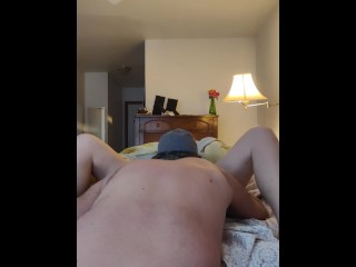 Covert webcam privately recorded my buddies wifey railing me till I creampied her