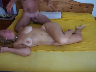 Huge-boobed milf pounded firm on vaca we meet on youfuck.joy