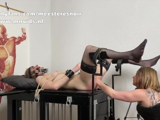 Victim lady Noortje gets fisted for the highly first-ever time