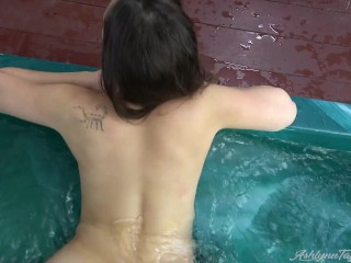 Super super-steamy bath getting off Leads to point of view Virtual hump with Pool guy