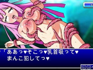 Manga pornography fuck-fest Game woman drilled By Worm(Fairy Hunter Run)
