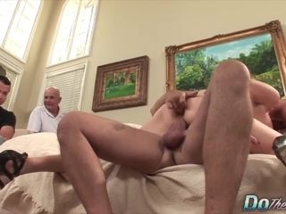Do The wifey Housewifey Shamelessly screwing in Front of husband Compilation 1