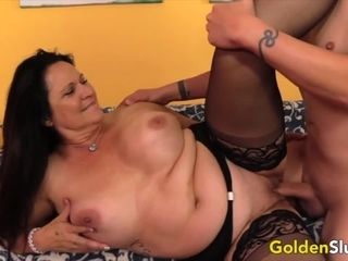 Golden whore Mature brown-haired lovelies pulverizing Compilation Part 2