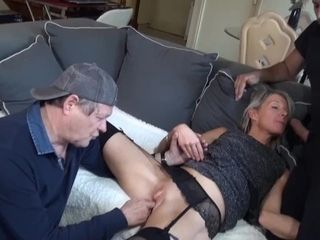 'Caroline, fancy mature have fuck-fest with youthful dude in front of husband'