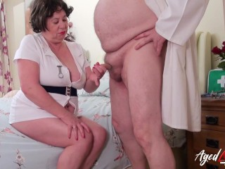 AgedLovE buxom Nurse with Doctor|4::Blowjob,16::Mature,38::HD,47::Young and aged