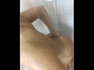 Fuckslut wifey need some enjoy in the shower