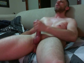 Scorching australian youngster wanks His Rock rock-hard rock-hardy, groaning & eyeing porno