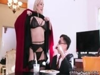 Cougar mother youthful dude Halloween off the hook With A 3some