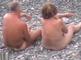 Hidden cam stud jacking And pound red-haired female On A Public Beach
