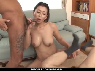 Mommy with gigantic mounds, first-ever web cam pornography experie - More at Japanesemamas com