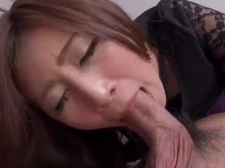 Asian uber-cute sixty nine and female on top