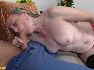Ass inside-out mommy ass-fuck fuck-a-thon with step grandson