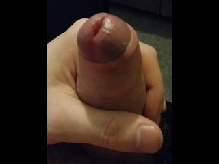 Horny cherry dude demonstrates his fuck-stick to you.