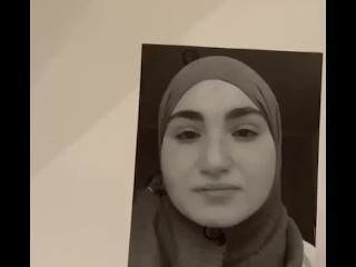 Hijab Muslima spunk Tribute pretty face innocent nymph would nail her so firm