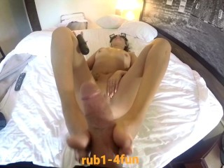 Japanese Holloween point of view solesjob massive spunk on toes