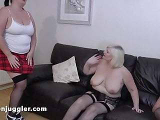 Sarah Jane in a dual mature lesbo appointment