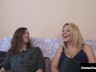 Naughty milf Charlee pursue nails Son's college mate!