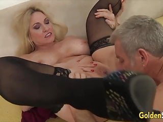 Golden breezy - senior lovelies gobbled and frigged Compilation