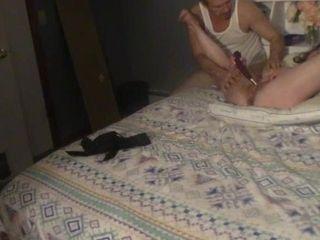 Wife bbc creampie at gloryhole