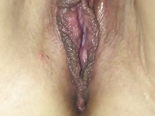 My wife shaved pussy