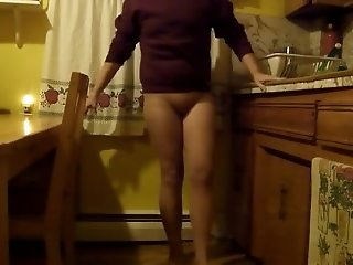 My lustful young wife loves to cock without pants