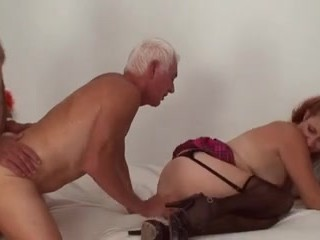 Mature Bi Couple Threesome