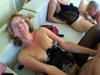 Orgy with Leila and 2 women