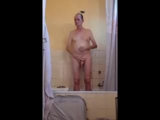 Taking my shower