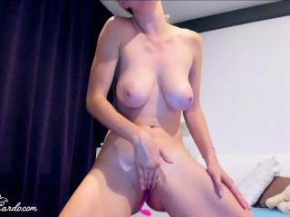 Sumptuous honey From Lack of fuck-fest rock-hard frigging cock-squeezing vag