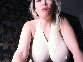 Fantastic plus-size three yam-sized funbags mature