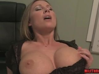 Humungous globes cougar gonzo with jizz shot