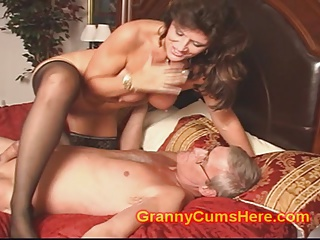 Granny has an ORGY with Baby Sitter