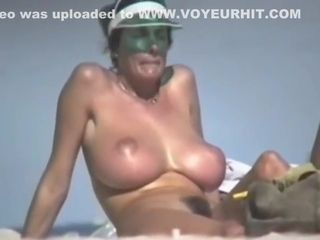 Dame with fur caked cootchie beach hd