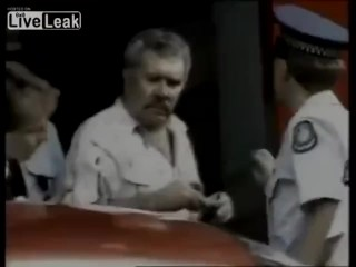 The uber-sexy arrest of Paul Charles Dozsa