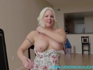 'TABOO point of view - handsome light-haired stepmother Catches You witnessing porno!'
