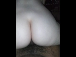 Her very very first rectal with a big black cock