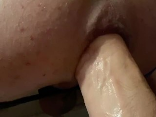 Ass fucking intrusion knuckle 2