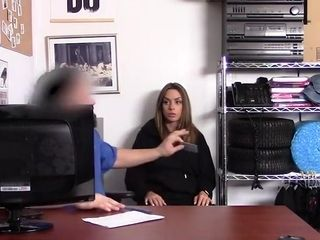 Wonderful cougar Thief sexually abused And forced Into deep-throating & screwing A Mall Cop - Jaimie Vine