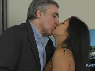 Mature Businessman romp With assistant