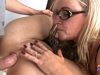 PervCity super-naughty rectal three way with Dee Siren and successful B