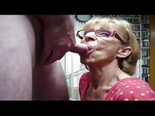 Grandma oral jobs Compilation three