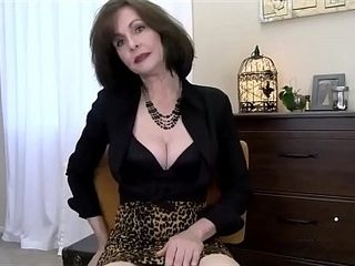 Cougar step-mom Wants Your jizz
