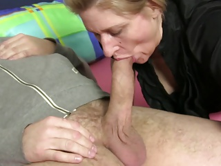XxxOmas - bitchy inexperienced grannie rectal hook-up in German three-way
